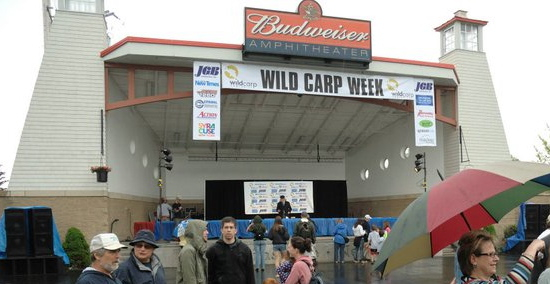 The Stage. Wild Carp Week, 2011, Baldwinsville, NY